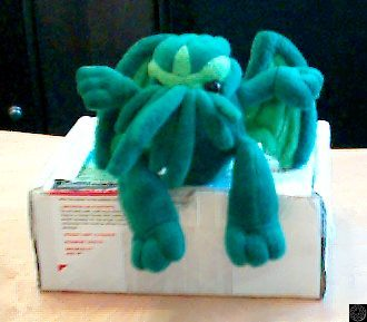 Cthulhu arrives